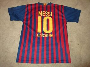 60c891e623a Image is loading FC-BARCELONA-LIONEL-MESSI-SOCCER-JERSEY-YOUTH-SIZE-