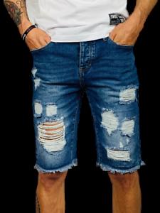 foto ufficiali a75d5 05372 Dettagli su Pantaloncini Uomo Bermuda Jeans Shorts Strappati Pantaloni  Corti Cotone Slim Fit