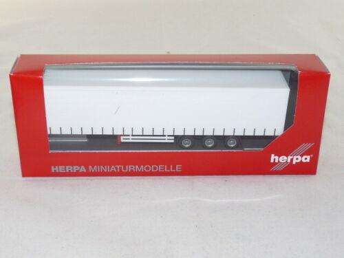 3a Herpa 075664 Lowliner Gardinenplanen auflieger
