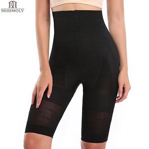 2054ed3d30a64 High Waist Tummy Control Trainer Thigh Slimmer Butt Lifter Shapewear ...