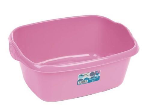 Baby Pink Large Rectangular Washing Up Bowl
