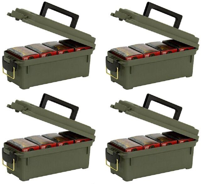 Plano 1212-02 Green Shotgun Shell Ammo Ammunition Storage Boxes 3