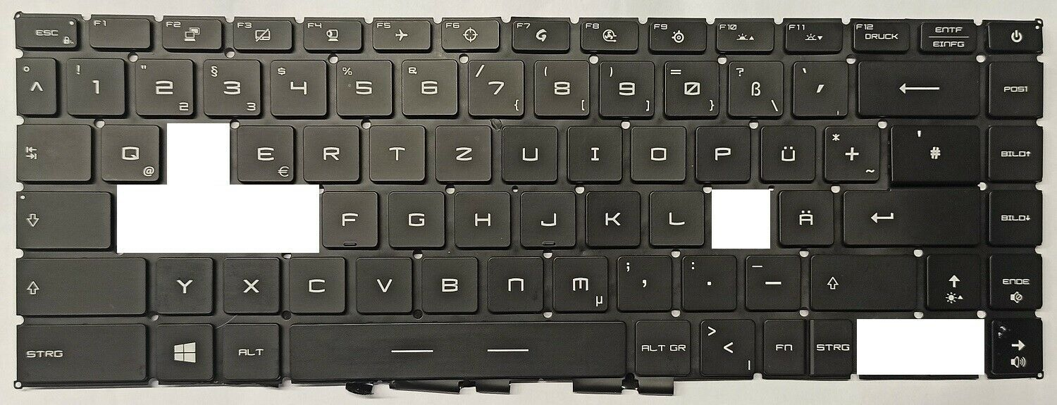 In128 key for keyboard MSI GE Series ge66 Raider Valhalla Limited Edition 10sf