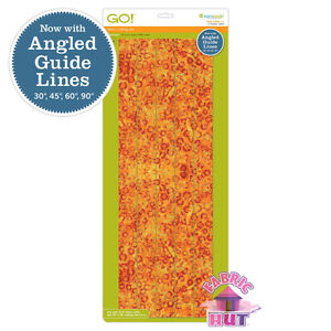 """55024 - AccuQuilt GO! & GO! Big 1 1/2"""" Strips Fabric Cutting Die Quilting Sewing"""