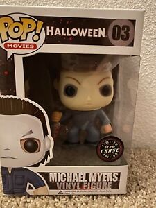 Michael Myers Halloween funko pop glow chase edition new in box