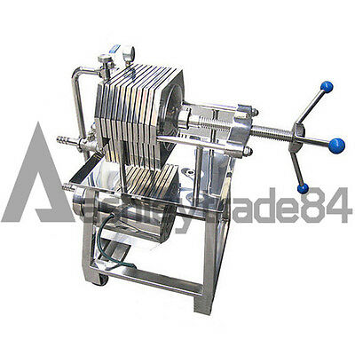 150 Stainless Steel Filter Press Filter Machine Lab Filtration Equipment y