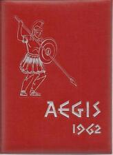 1962 EAST LONGMEADOW HIGH SCHOOL YEARBOOK, THE AEGIS, EAST LONGMEADOW, MA