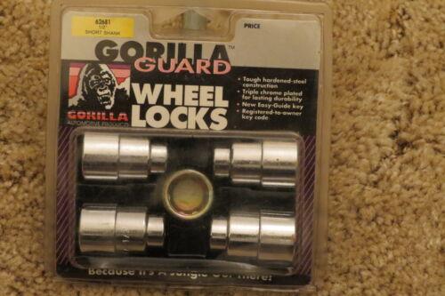 "1//2/""-20 Thread Size Gorilla Automotive 62681 Short Shank Gorilla Guard Locks"