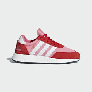 e267ab922d60f Adidas Originals I-5923 W Iniki Boost Women Red Pink White New Gym ...