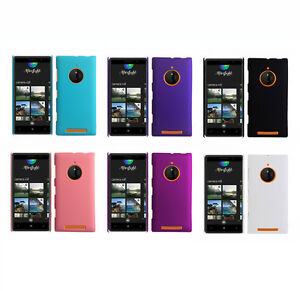 Hard-Rubberized-Matte-Snap-On-Slim-Cover-Case-for-Nokia-Lumia-830