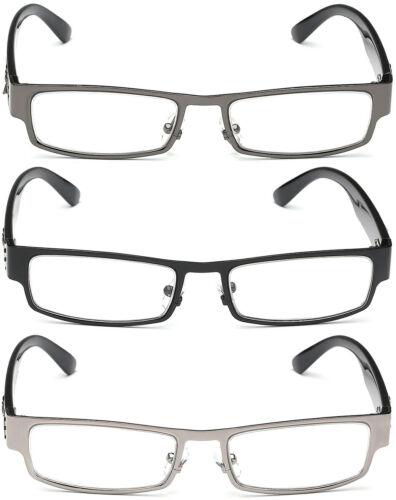 Non-Prescription Rectangular Men Women Clear Lens RX Optical Eye Glasses