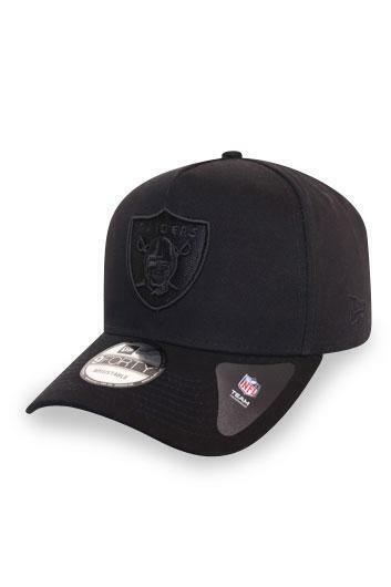 New Era 940 A Frame Oakland Raiders Black / Black
