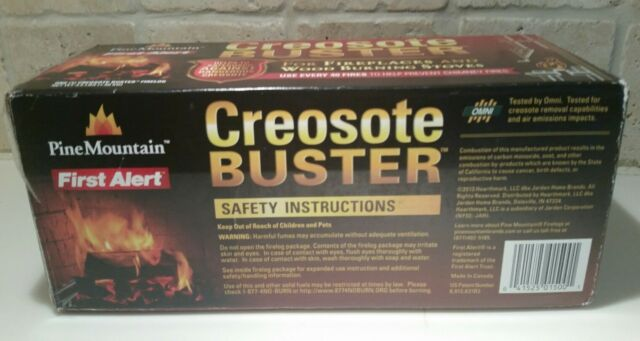 Pine Mountain Creosote Buster Safety Firelog, 1 Log