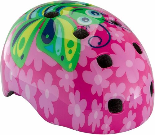 Ages 3 Schwinn Butterfly Burst Toddler Bike Helmet Color Pink NEW
