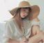 Foldable-Large-Brim-Hat-for-Women-UV-Protection-Summer-Beach-Sun-Hat-Visor thumbnail 13