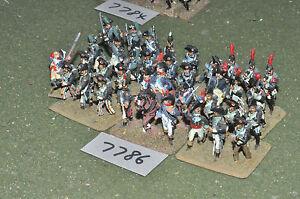 25 mm Napoléon / Français - Infanterie de la Guerre d'Indépendance et 36 Figues en Métal Inf (7786)