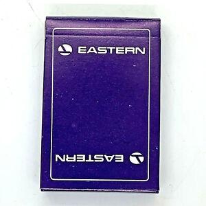 Vintage Eastern Airlines Playing Cards Bridge Size New Sealed Unused Deck NOS