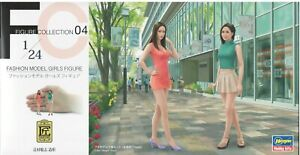 Hasegawa-1-24-FC04-29104-Fashion-Model-Girls-Figure-2-Figures