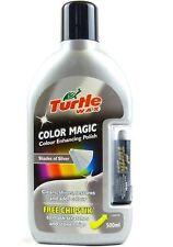 Turtle Wax Color plata mágica Coche Cera Polish Plus chipstik Gratis