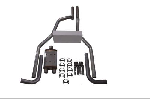 "88-95 Chevy GMC CK1500 CK2500 2.5/"" Dual Exhaust Magnaflow XL Side Exit"