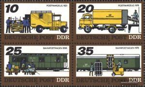 DDR-2299-2302-Viererblock-kompl-Ausgabe-postfrisch-1978-Transportmittel