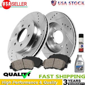 2 Rear Brake Rotors For 99 00 01 02 03 04 05 06 Chevrolet Silverado Sierra 1500