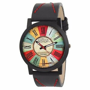 Relish Men's Multi-Colour Round Shape Analogue Watch (RE-S8108BV)
