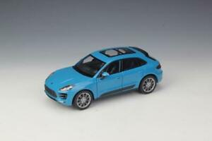 Welly-1-24-Porsche-Macan-Diecast-Model-Sports-Racing-Car-Toy-NEW-IN-BOX-Blue