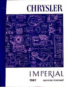 1969 Chrysler Imperial 300 New Yorker Shop Service Repair Manual CD OEM Guide