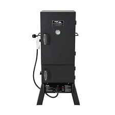 "Masterbuilt MB20051311 30"" Vertical Propane Gas BBQ Meat Smoker Grill, Black"