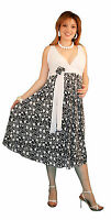 Wedding Maternity Dress Floral Pattern Babyshower Party Dress