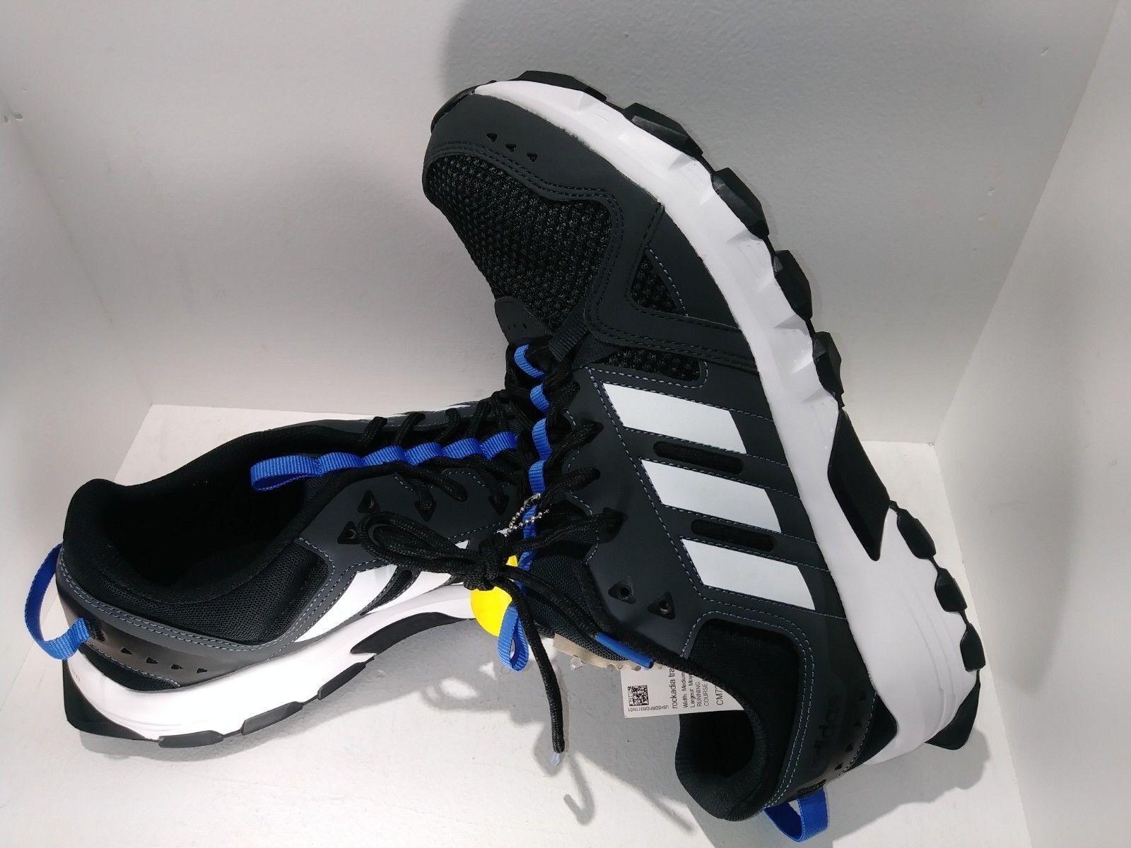 Gli uomini è adidas rockadia tracce di carbonio pizzo bianco a scarpe da trekking dimensioni 11,5 | Un equilibrio tra robustezza e durezza  | Sig/Sig Ra Scarpa