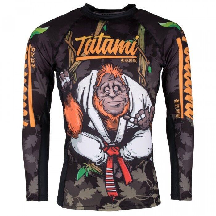 Tatami Hang Loose Orangutang Camiseta de Neopreno Rashguard Jiu Jitsu Compresión