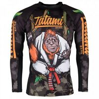 Tatami Hang Loose Orangutang Rash Guard Rashguard Jiu Jitsu Compression No-gi