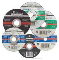 CUTTING GRINDING DISCS 70 100 115 125 230 300 350mm metal steel stone slitting