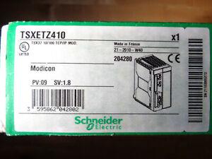 SCHNEIDER ELECTRIC AUTOMATION MODICON PREMIUM TSXETZ410 TSX ETZ 410 TSX37 TCP/IP
