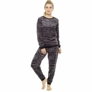 3724ae97c Womens Winter Warm Cosy Traditional Sleep suits Pyjamas Set ...