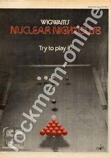 Wigwam Nuclear Nightclub V2035 MM5 LP Advert 1975