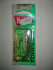 Heddon Tiny Torpedo Lure Natural Leopard Frog 1 7/8-inch