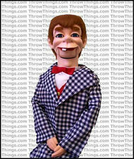 Mortimer Snerd Super Deluxe Upgrade Ventriloquist Dummy With Moving Eyes & Brows