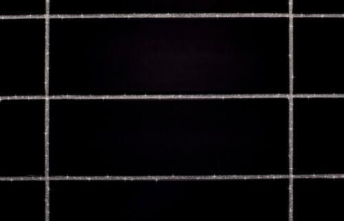 2 X v1rtus Paillette Joint Additif Argent Holographique 100g Carreaux Mosaïque