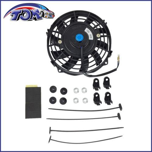 "Brand New Universal Slim 7/"" Pull//push Radiator Engine Bay Cooling Fan Mount Kit"