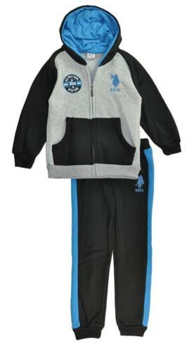 US Polo Assn Infant Boys Hoodie 2pc Sweat Pant Set Size 12M 18M 24M $40