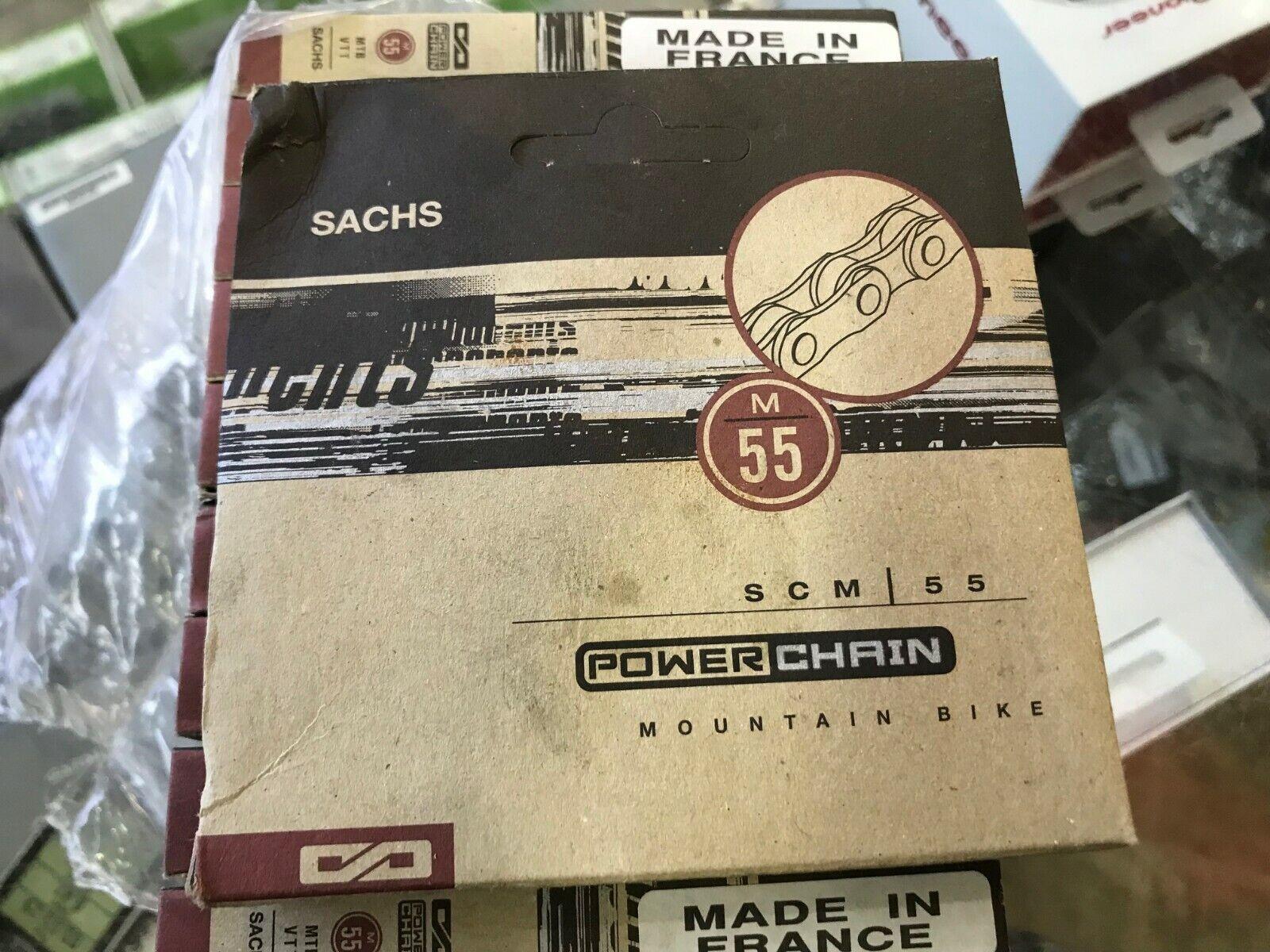 New Sachs SCM 55 Chain Mountain Road Bike 5 speed 6 speed 7 speed