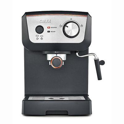CRUX CRUX006 15-Bar Espresso Coffee Machine