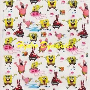Pelicula-hidrografica-SpongeBob-Patrick-sqarepants-Ninos-Impresion