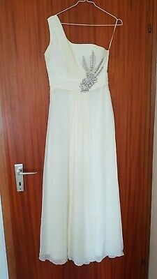 Standesamt Abendkleid creme Gr.36/38 S/M | eBay