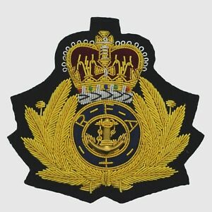 Royal Navy Fleet Auxiliary Service Blazer Badge
