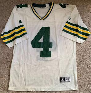 Vintage-1995-Brett-Favre-Starter-Jersey-4-Green-Bay-Packers-NFL-Sz-48-L