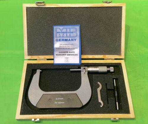 VW Audi Porsche OEM Tool Outside Micrometer  Gauge 75-100mm